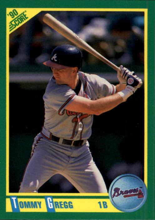 1990 Score #78 Tommy Gregg