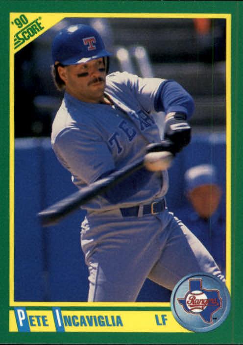 1990 Score #93 Pete Incaviglia