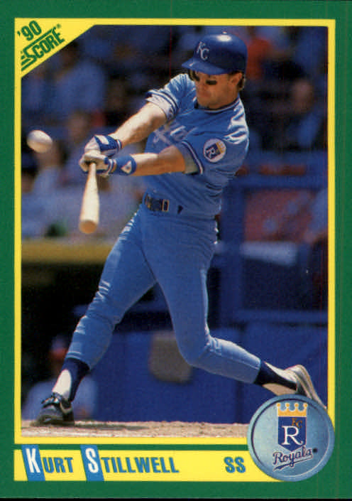 1990 Score #96 Kurt Stillwell