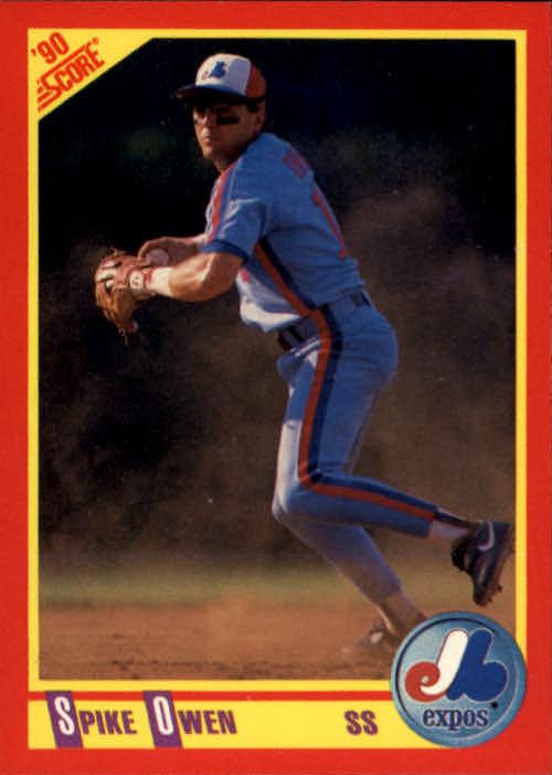 1990 Score #247 Spike Owen