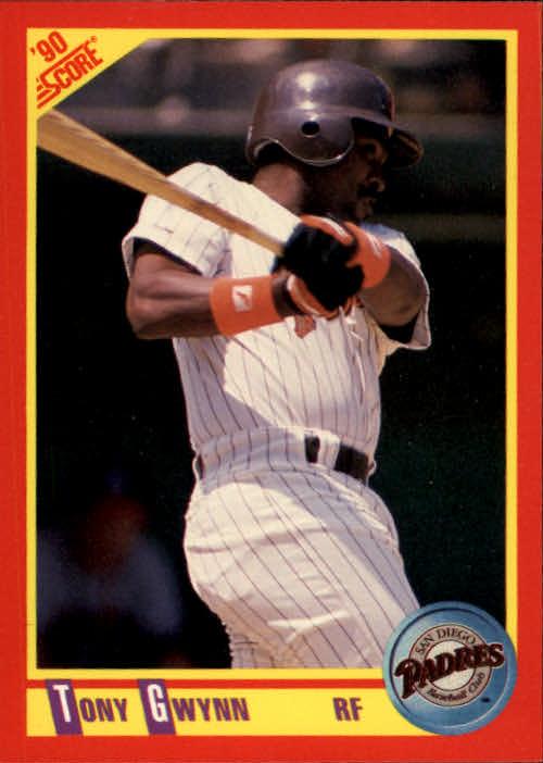 1990 Score #255 Tony Gwynn