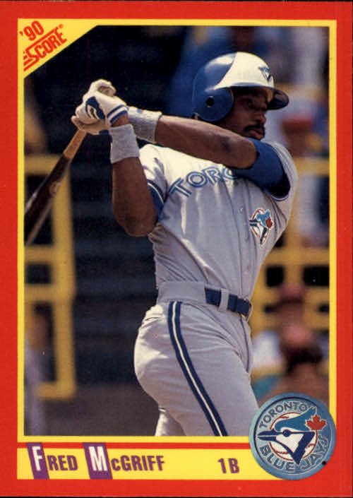 1990 Score #271 Fred McGriff