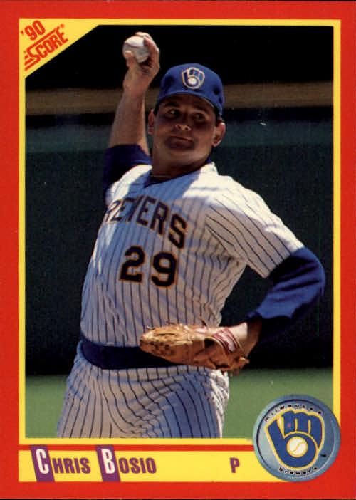 1990 Score #283 Chris Bosio