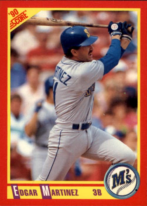 1990 Score #324 Edgar Martinez