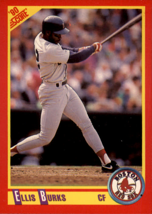 1990 Score #340 Ellis Burks