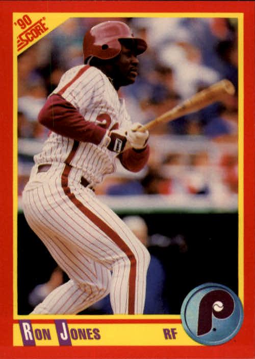 1990 Score #364 Ron Jones