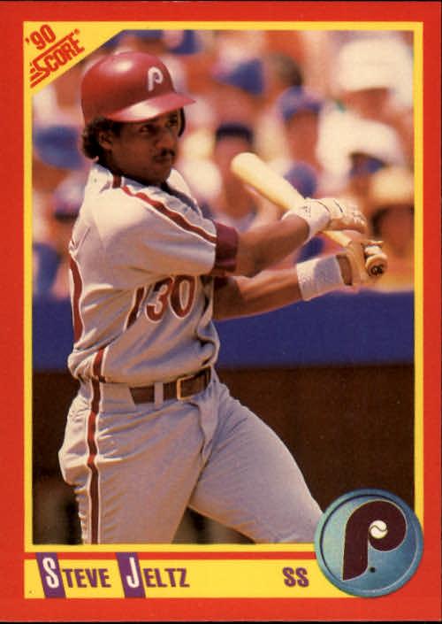 1990 Score #421 Steve Jeltz