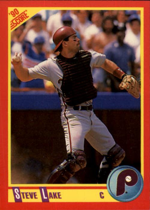 1990 Score #435 Steve Lake