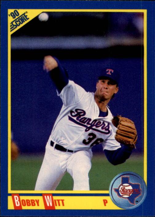 1990 Score #457 Bobby Witt
