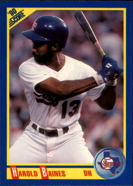 1990 Score #470 Harold Baines