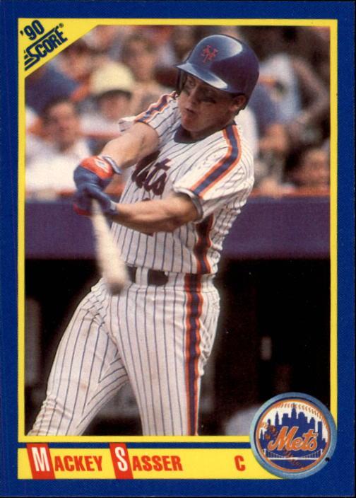 1990 Score #510 Mackey Sasser