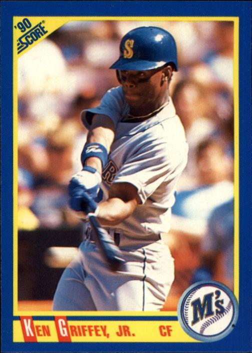 1990 Score #560 Ken Griffey Jr.