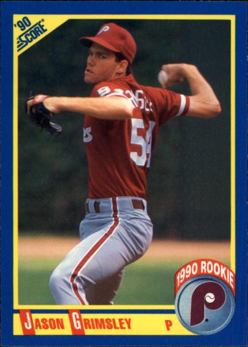 1990 Score #649 Jason Grimsley RC