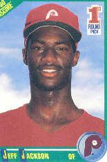 1990 Score #678 Jeff Jackson RC