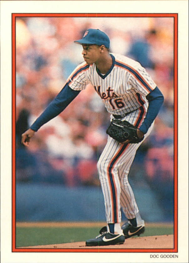 1990 Topps Glossy Send-Ins #23 Dwight Gooden