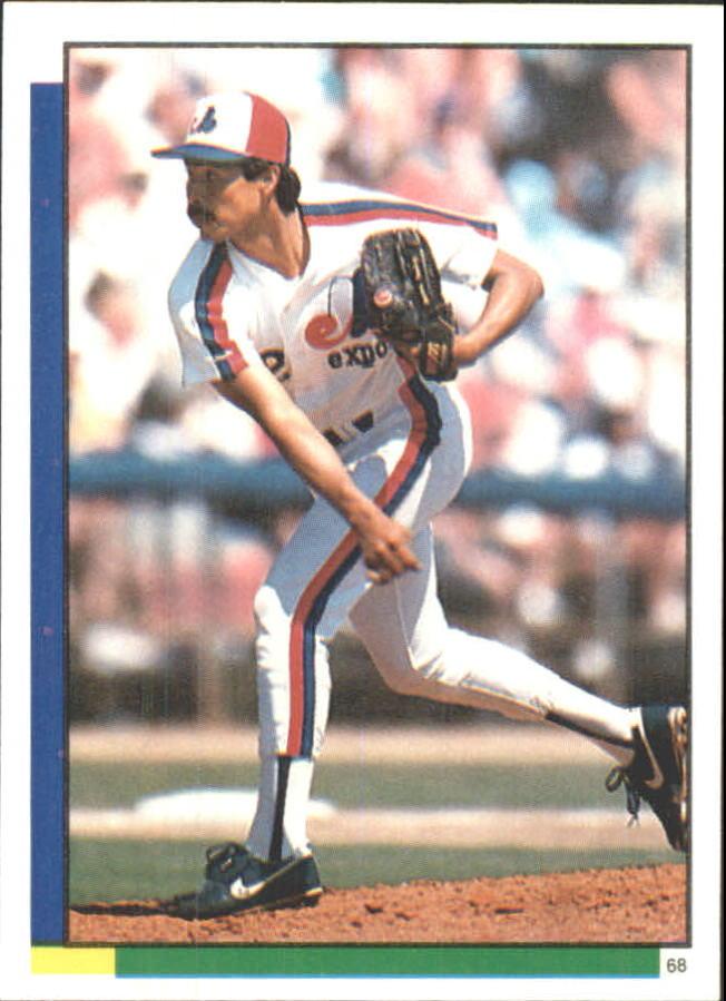1990 Topps Stickers #68 Denny Martinez