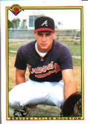 1990 Bowman #14 Tyler Houston RC