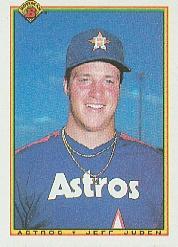 1990 Bowman #64 Jeff Juden RC