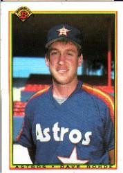 1990 Bowman #75 Dave Rohde RC