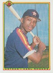 1990 Bowman #79 Karl Rhodes RC
