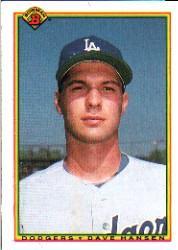 1990 Bowman #93 Dave Hansen RC