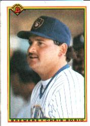 1990 Bowman #389 Chris Bosio