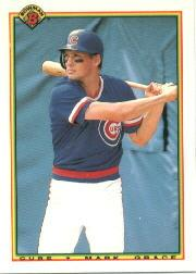1990 Bowman Tiffany #29 Mark Grace