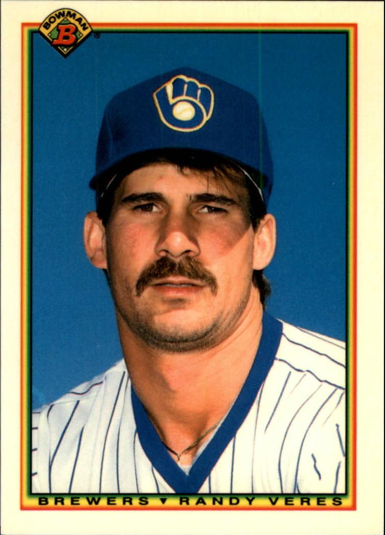 1990 Bowman Tiffany #390 Randy Veres