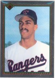 1990 Bowman Tiffany #492 Juan Gonzalez