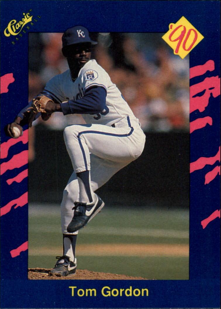1990 Classic Blue #4 Tom Gordon