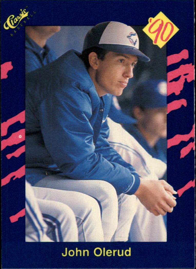 1990 Classic Blue #35 John Olerud