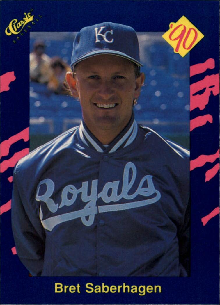 1990 Classic Blue #139 Bret Saberhagen