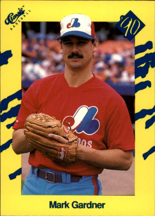 1990 Classic Yellow #T4 Mark Gardner