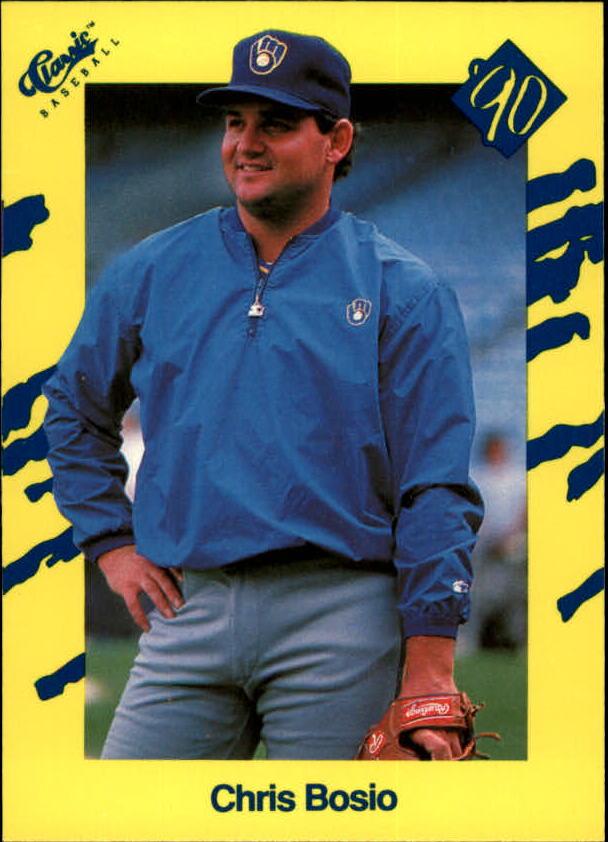 1990 Classic Yellow #T42 Chris Bosio