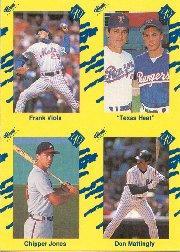 1990 Classic Yellow #NNO C.Jones/Matt/Ryan/Viola