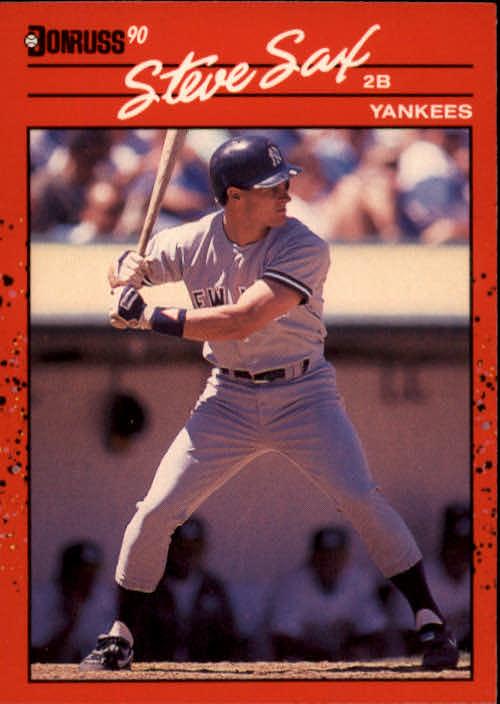 1990 Donruss #78 Steve Sax