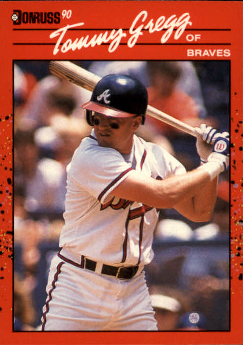 1990 Donruss #239 Tommy Gregg