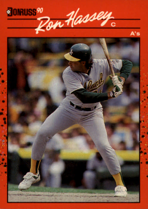 1990 Donruss #450 Ron Hassey