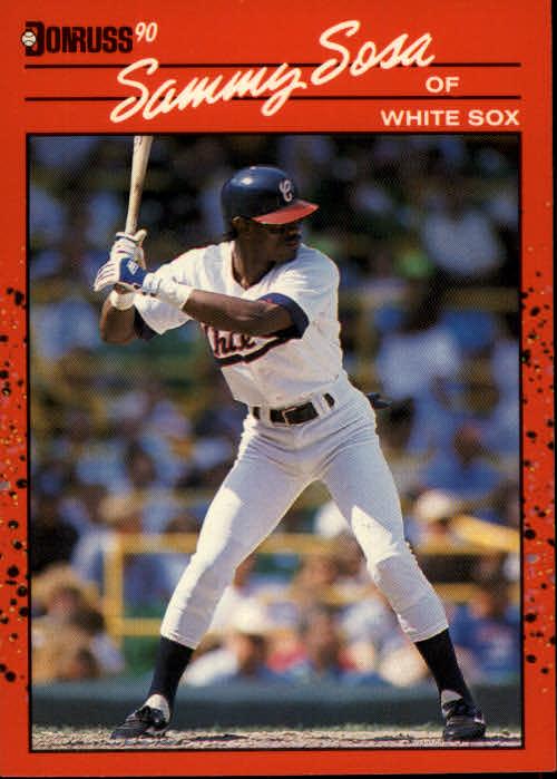1990 Donruss #489 Sammy Sosa RC