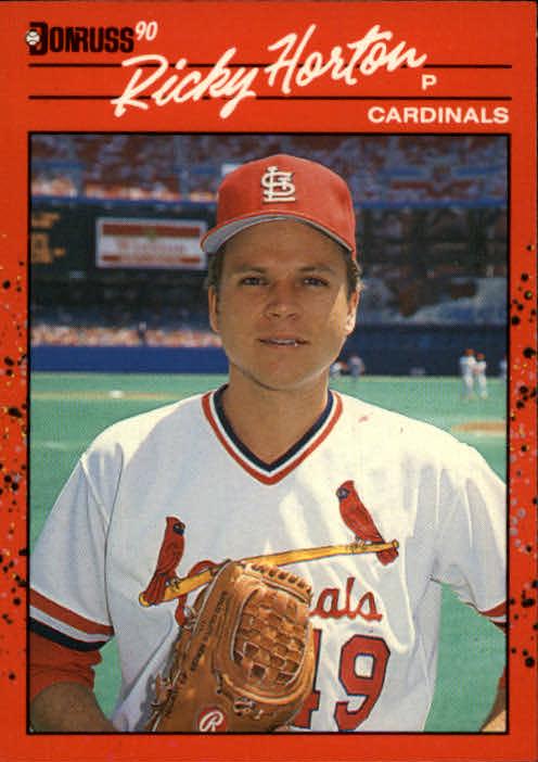 1990 Donruss #666 Ricky Horton