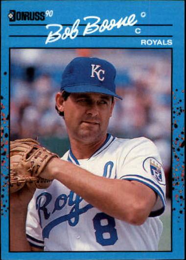 1990 Donruss Best AL #50 Bob Boone