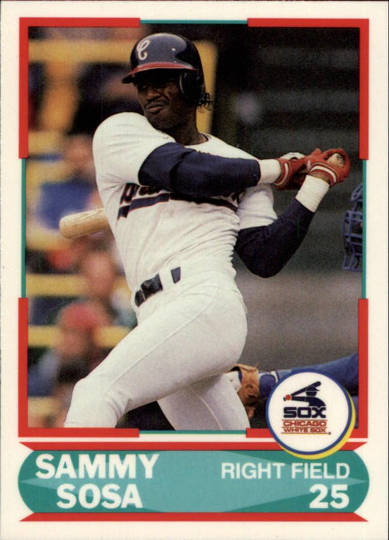 1990 Score Young Superstars II #25 Sammy Sosa