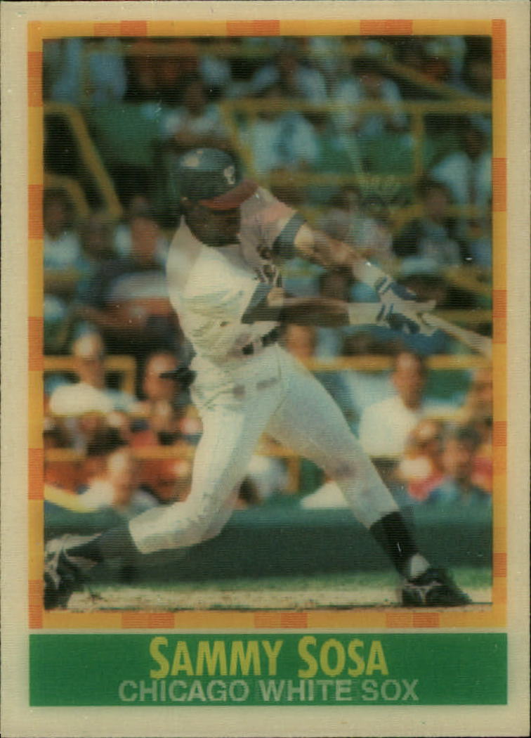 1990 Sportflics #81 Sammy Sosa