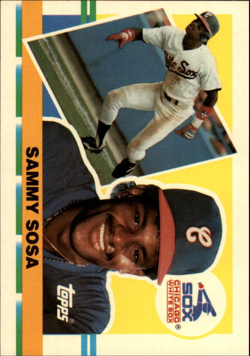 1990 Topps Big #286 Sammy Sosa
