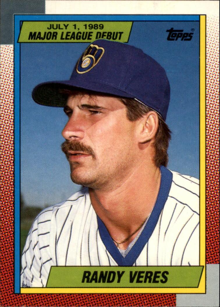 1990 Topps Debut '89 #130 Randy Veres