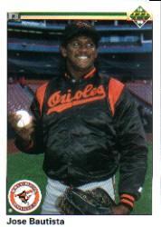 1990 Upper Deck #8 Jose Bautista