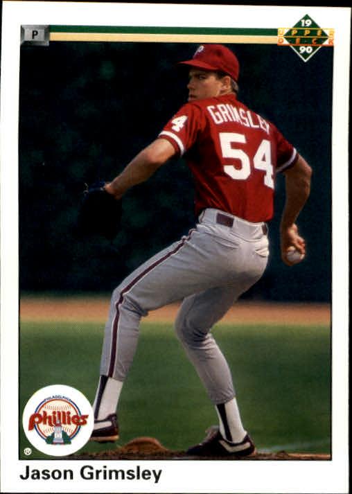 1990 Upper Deck #27 Jason Grimsley RC
