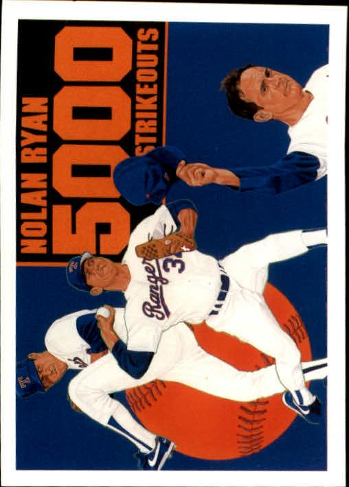 1990 Upper Deck #34 Nolan Ryan Special