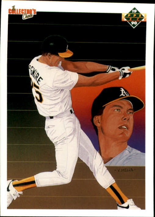 1990 Upper Deck #36 Mark McGwire TC