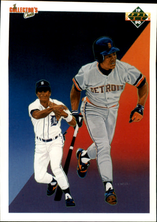 1990 Upper Deck #41 Lou Whitaker TC